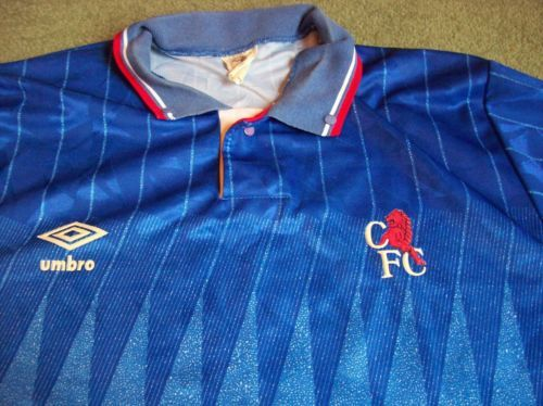 Global classic football shirts 1989 chelsea old vintage for Prem league table 99 00