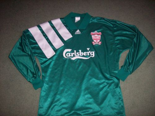 1992 1993 Liverpool Player Issue Centenary L/s Adults XL Classic Football Shirt Vintage Soccer Jersey