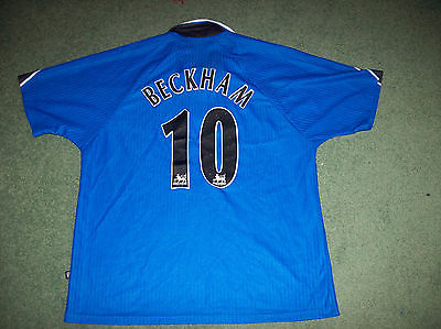1996 1997 Manchester United David Beckham Football Shirt Adults XL
