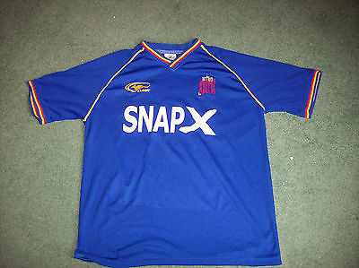 2001 Northern Spirit Glasgow Rangers Home Football Shirt M Sydney Australia
