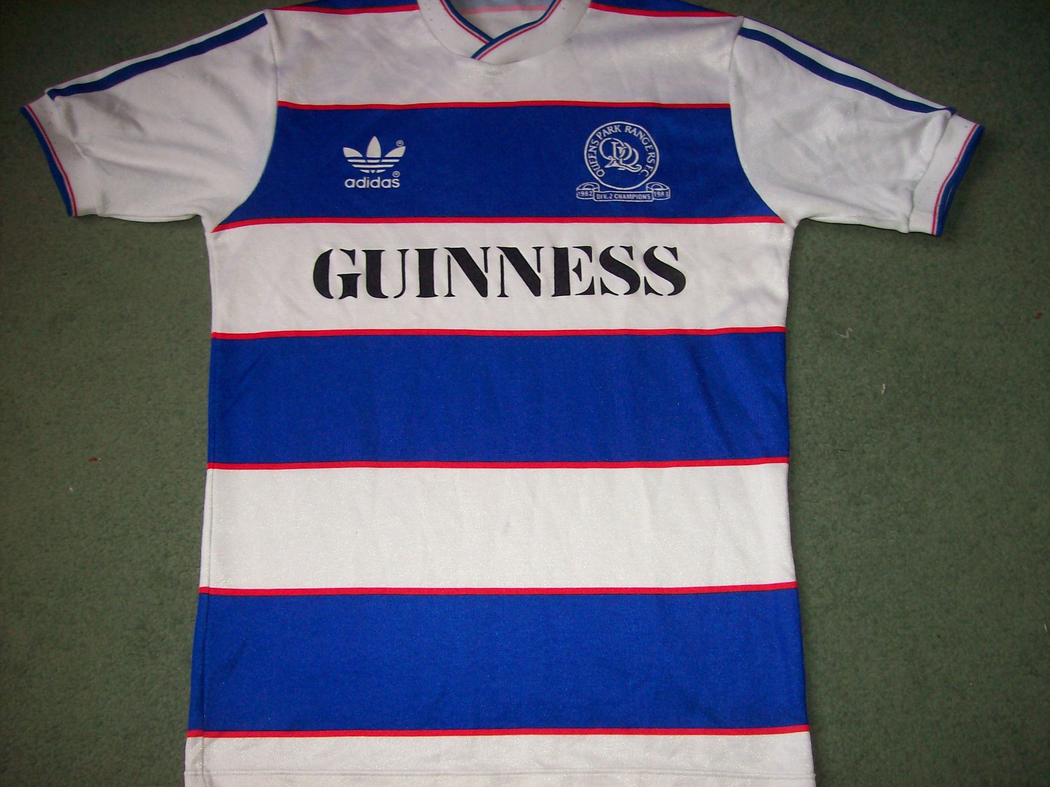 size 40 c118f c7080 Global Classic Football Shirts | 1983 1984 QPR Vintage Old ...