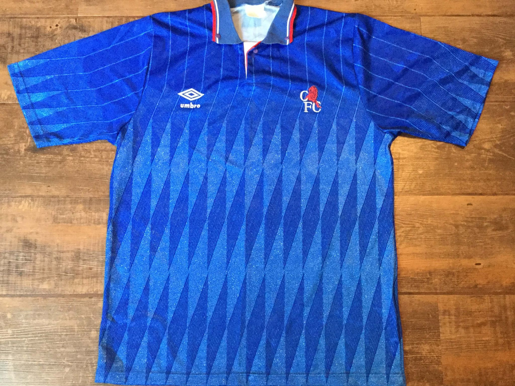 online store dbde7 8f3e7 Global Classic Football Shirts | 1989 Chelsea Vintage Old ...