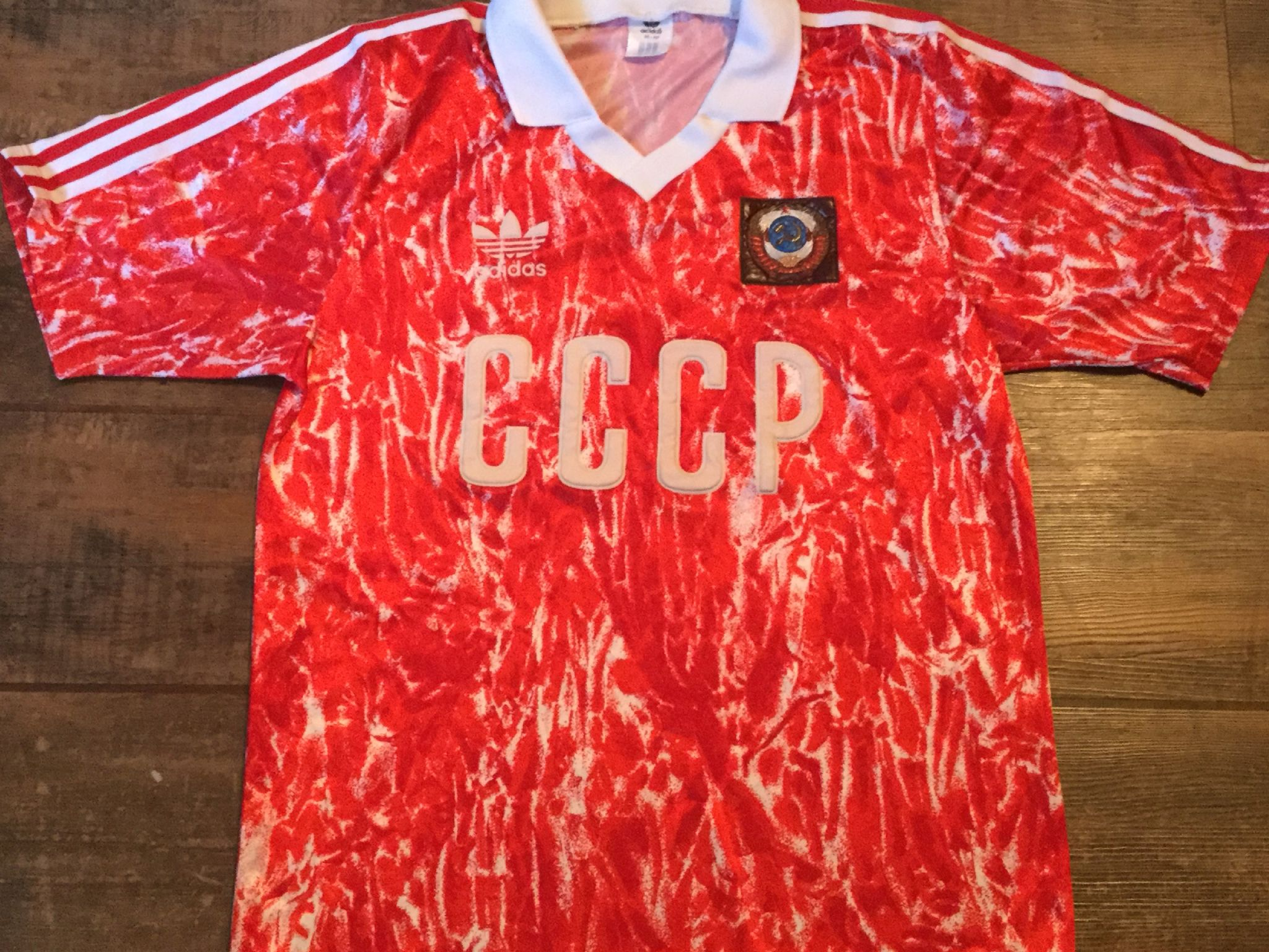 reputable site 178f7 f29d8 Global Classic Football Shirts | 1989 USSR Vintage Old ...