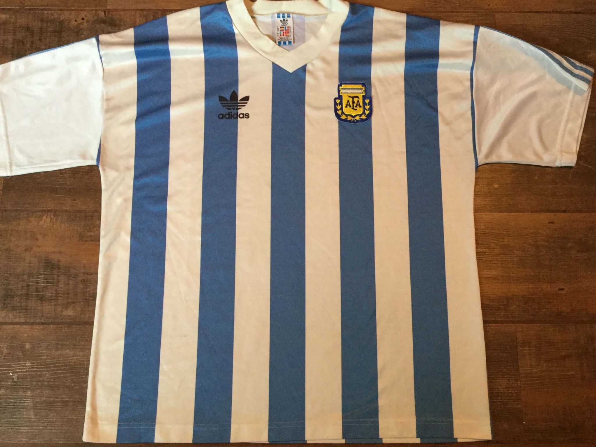 Global Classic Football Shirts 1991 Argentina Vintage Old Soccer Jerseys