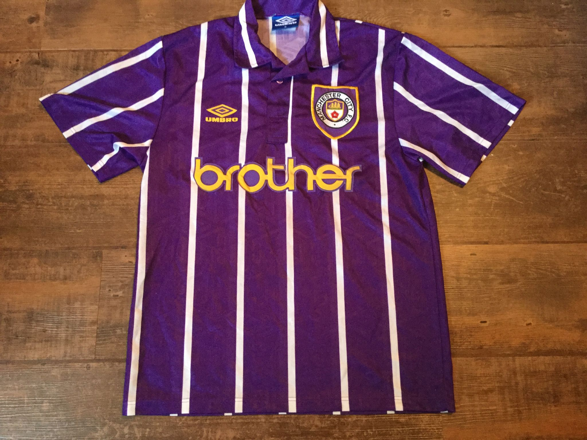huge discount 9f636 a02ed Global Classic Football Shirts | 1992 1994 Manchester City ...