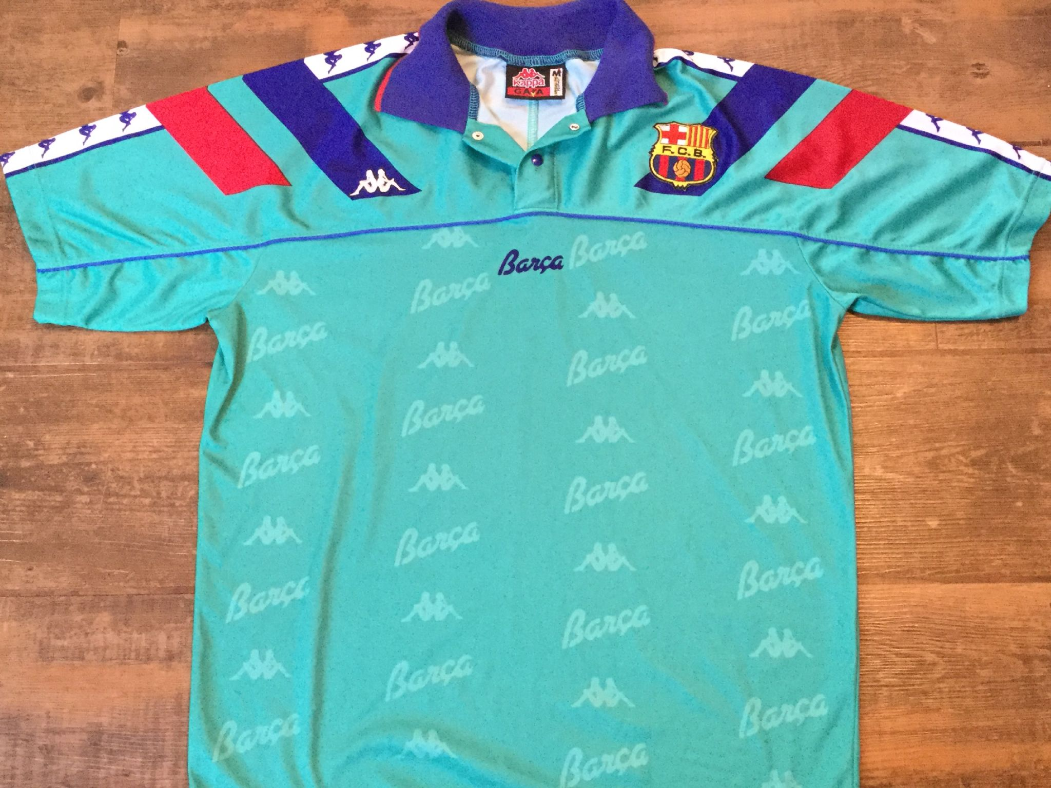 reputable site 40207 7c6fd Global Classic Football Shirts | 1992 Barcelona Old Vintage ...