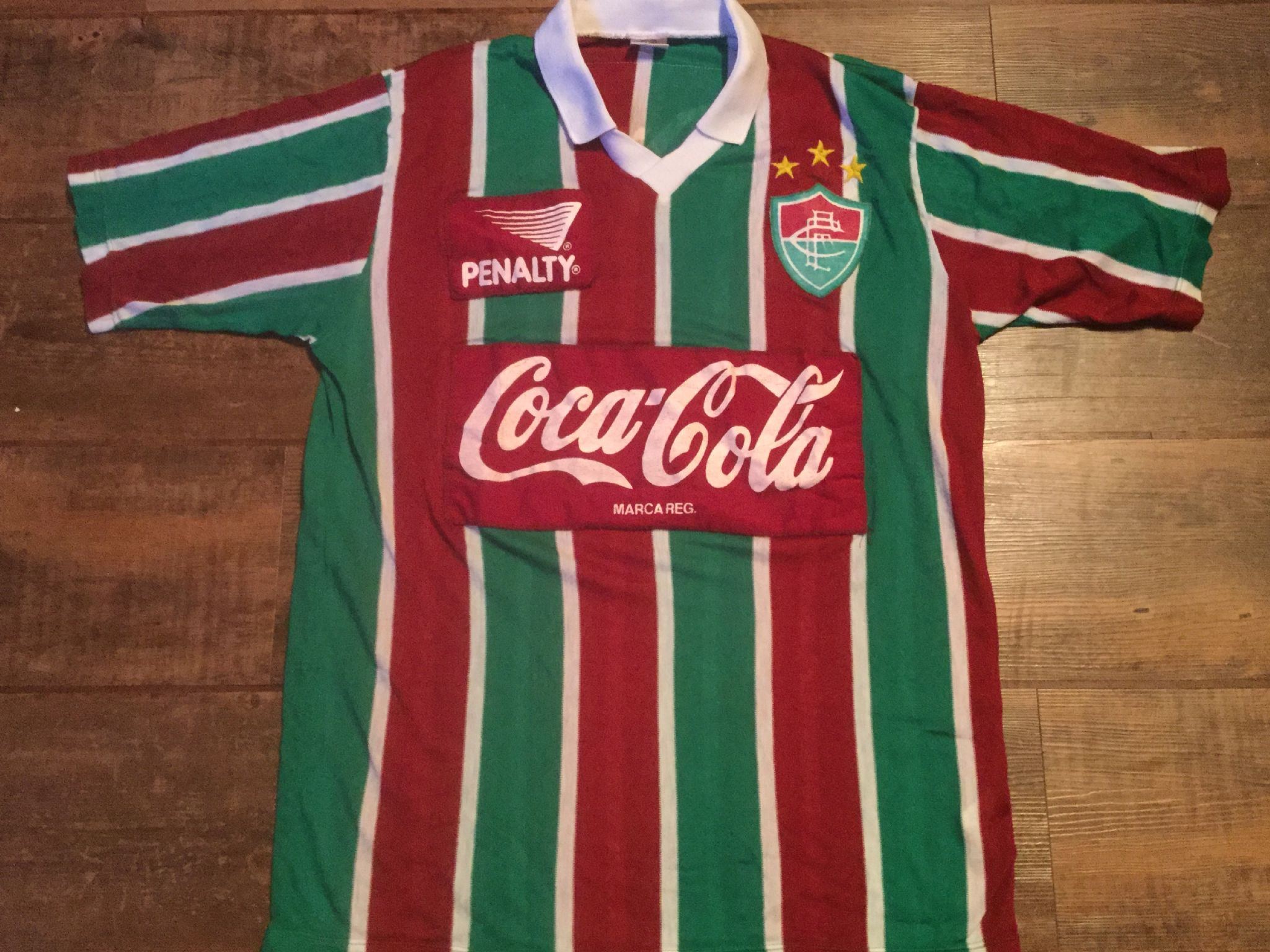 e949dfb8d 1992 Fluminense Football Shirt Adults XL Medium