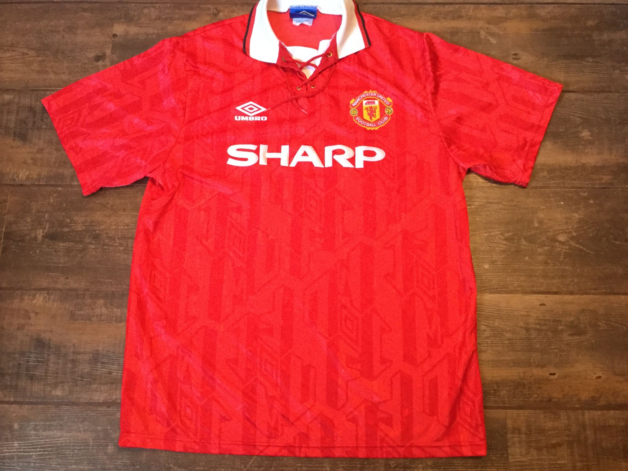 low priced 96525 f154b Global Classic Football Shirts | 1993 Manchester United ...
