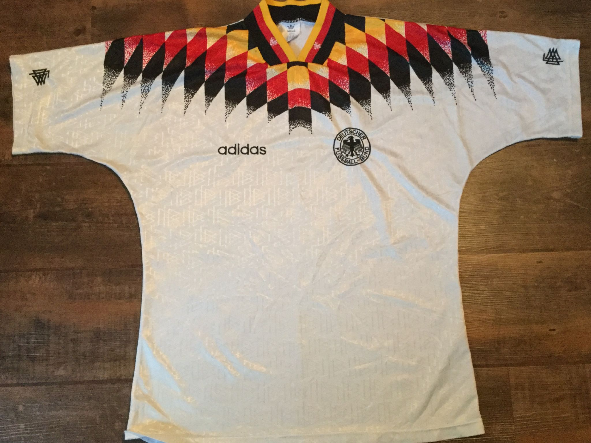 dbcd241dc48 1994 1996 Germany Home Football Shirt Adults Large Jersey