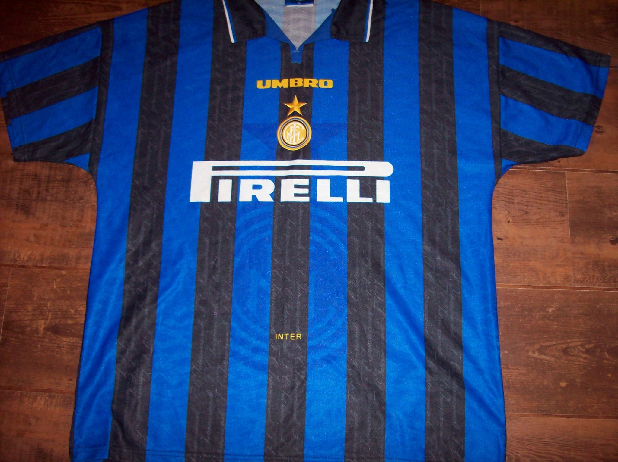 best service ecffc 9a77e Global Classic Football Shirts | 1996 1997 Inter Milan Old ...