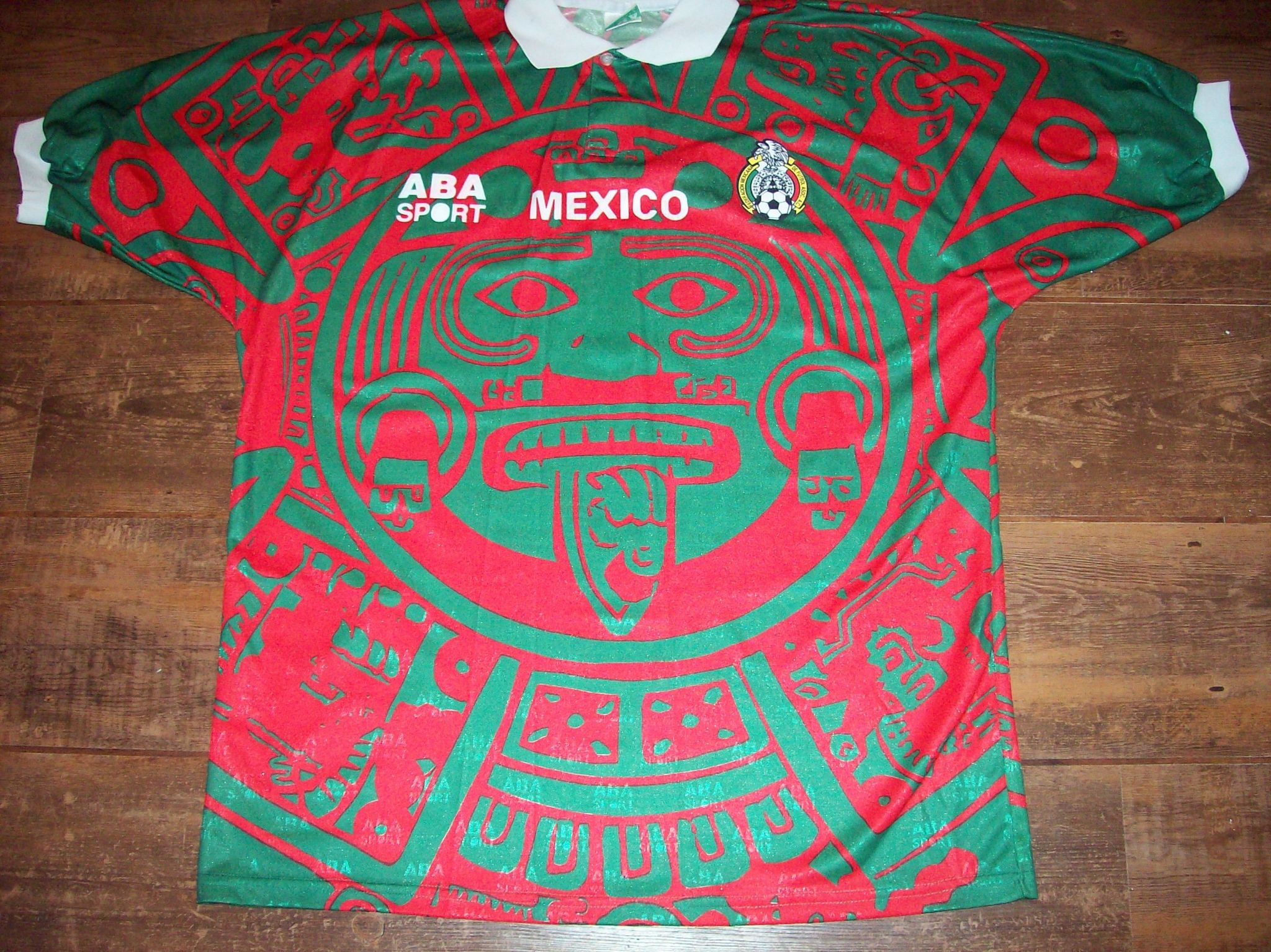 0d5767a94 1997 1998 Mexico Home Football Shirt Adults Large