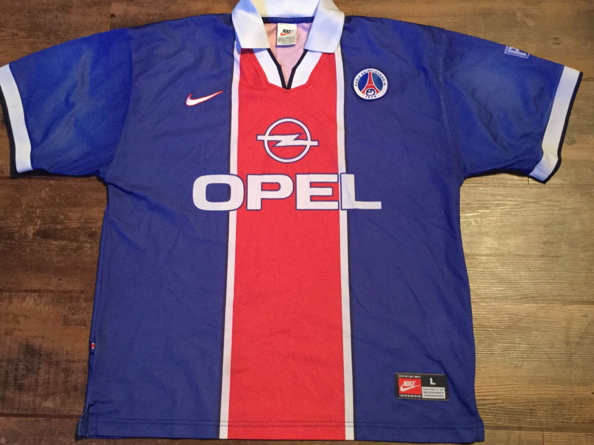 790b31ad178c0 1997 1998 Paris Saint Germain PSG Football Shirt Adults Large Maillot