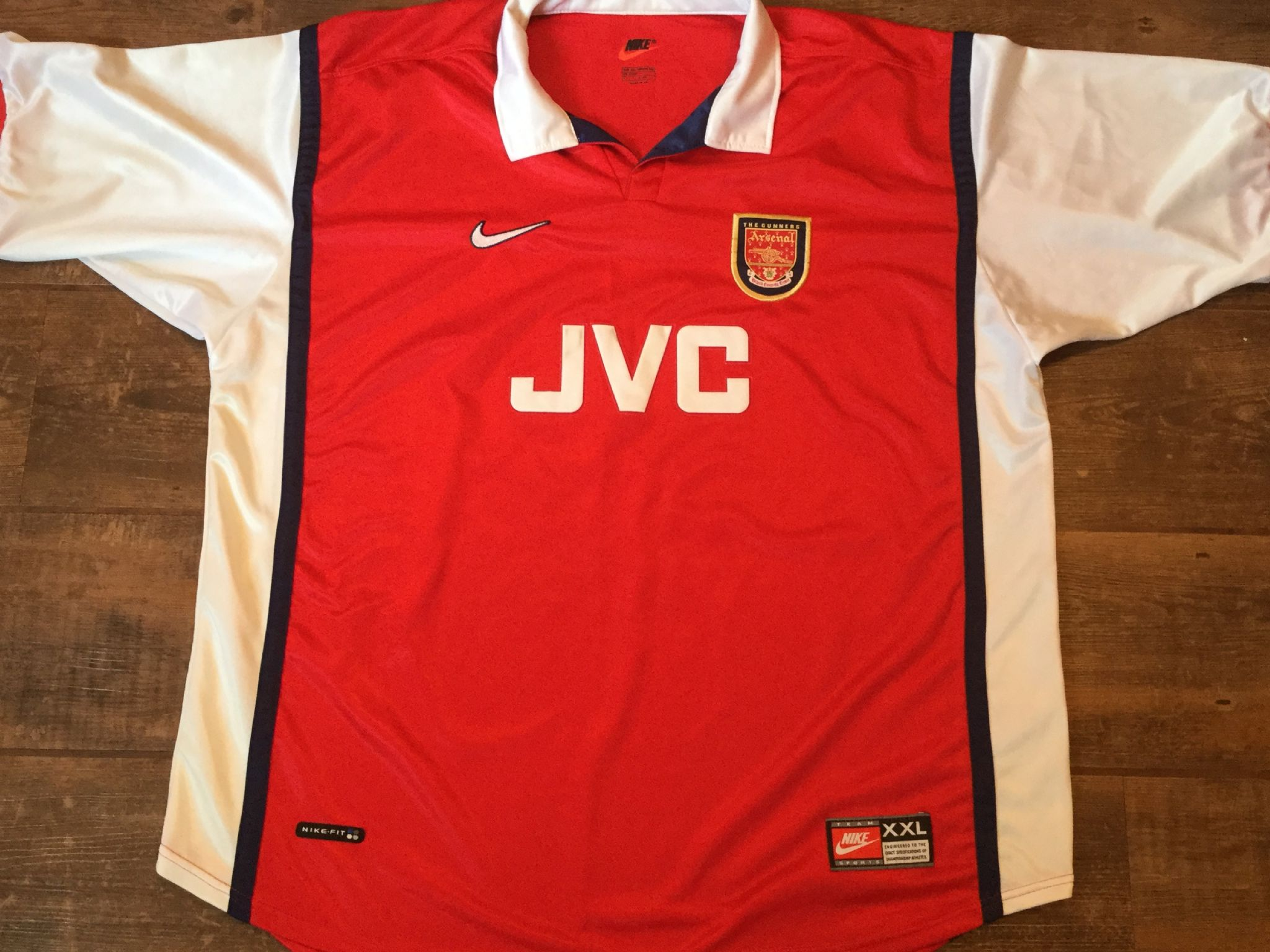 quality design daa34 d4962 Global Classic Football Shirts | 1999 Arsenal Vintage Soccer ...
