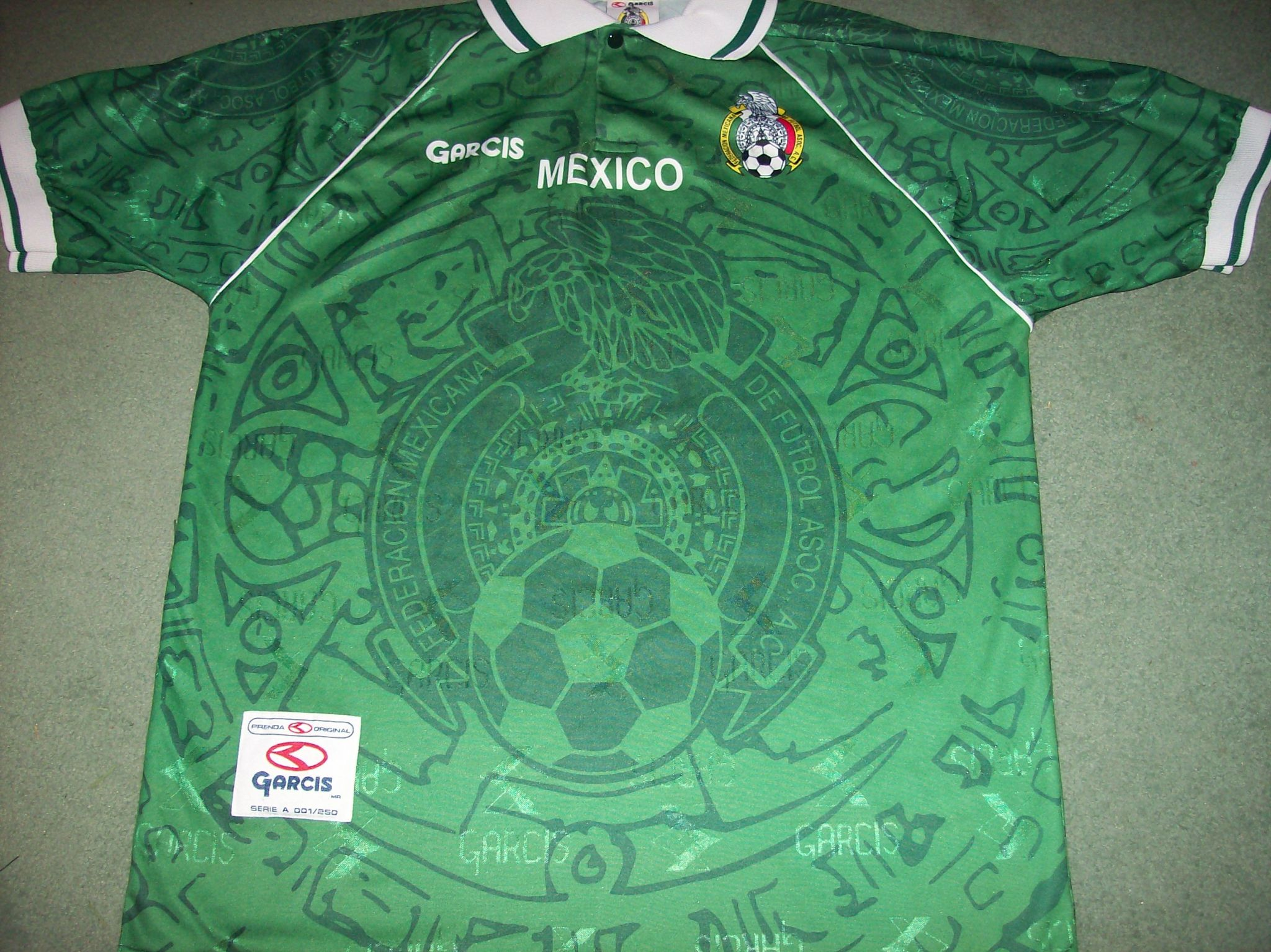 721c96a7c 1999 Mexico Football Shirt Camiseta Adults Medium