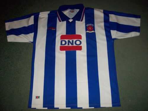2000 2002 Hartlepool United Football Shirt Adults Large Top