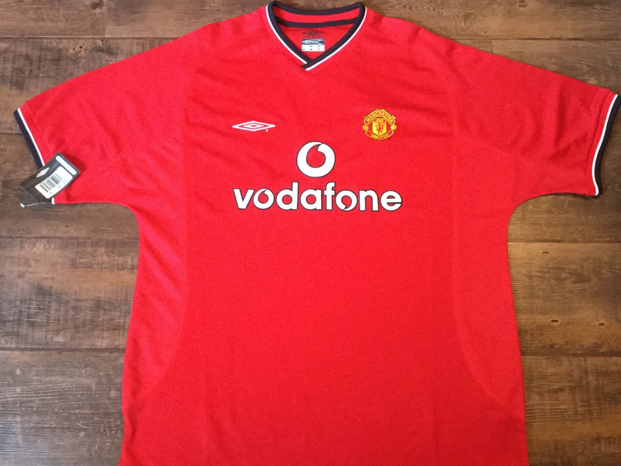 e270da44a 2000 2002 Manchester United BNWT New Home Football Shirt Adults XL 2XL