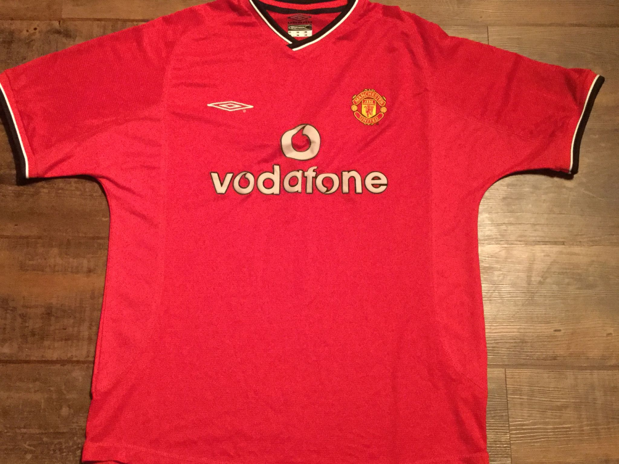 2000 2002 Manchester United Home Football Shirt Adults Large 33a30933b