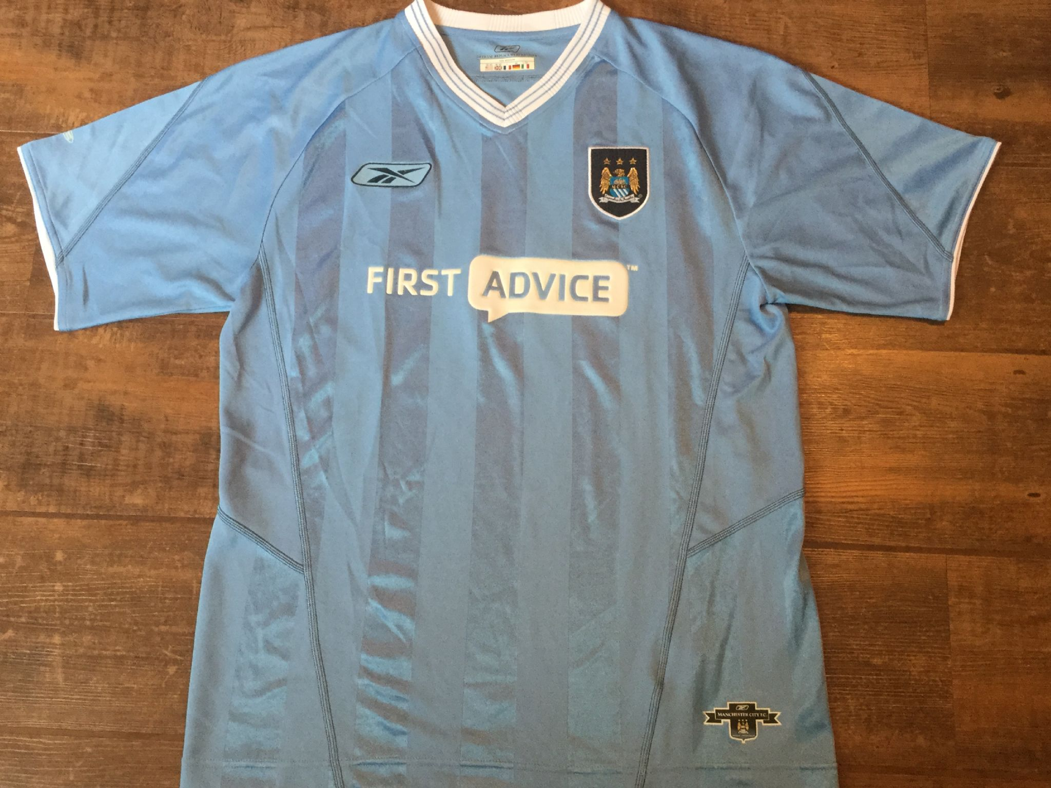 the best attitude cdc84 9d4e9 Global Classic Football Shirts | 2003 Manchester City ...