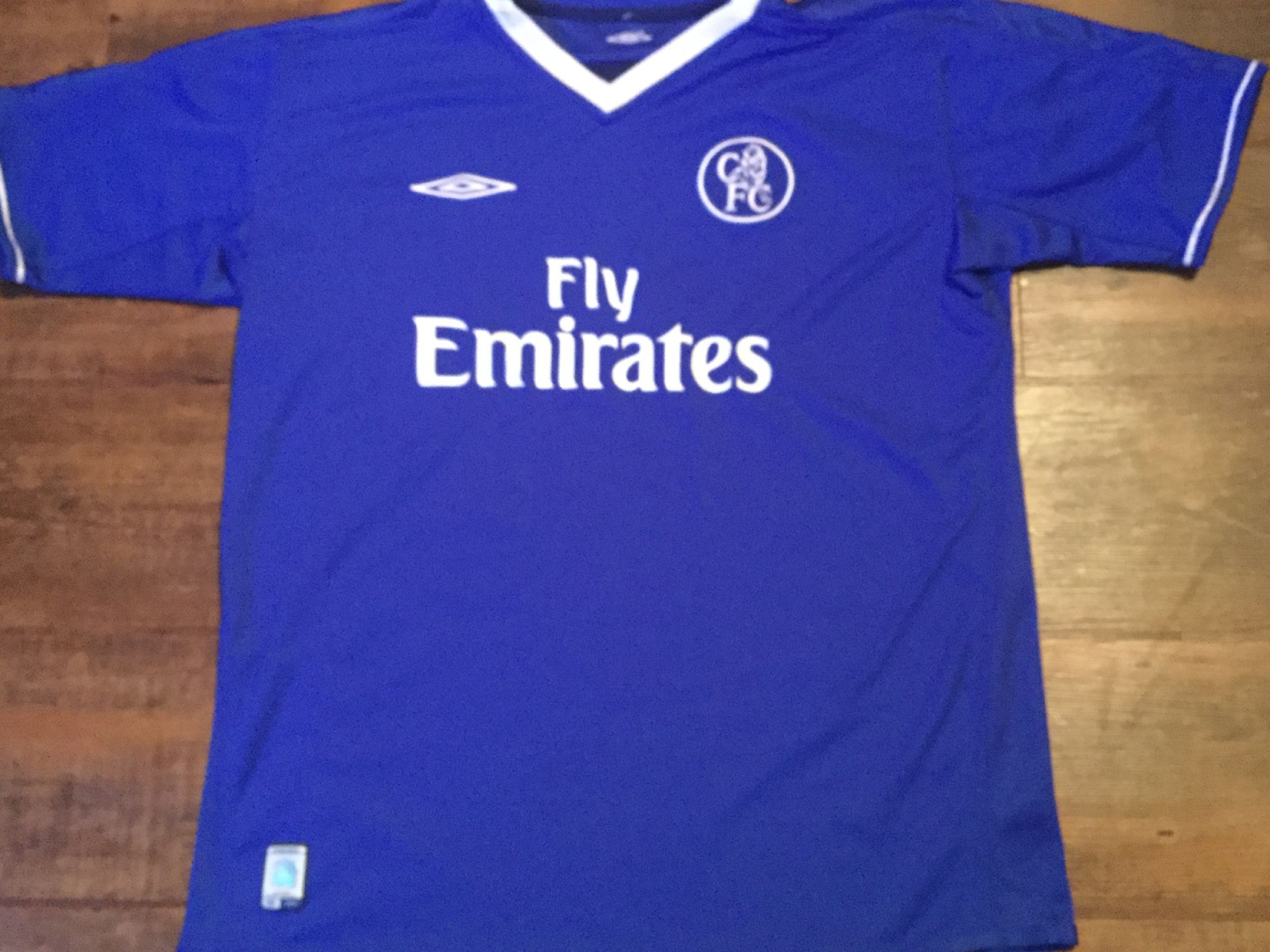 competitive price 2f85c 33225 Global Classic Football Shirts | 2003 Chelsea Vintage Old ...