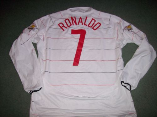 innovative design 3bbdd c7aa2 2003 2005 Manchester United Ronaldo L/s Adults XXL Football Shirt Top Man U