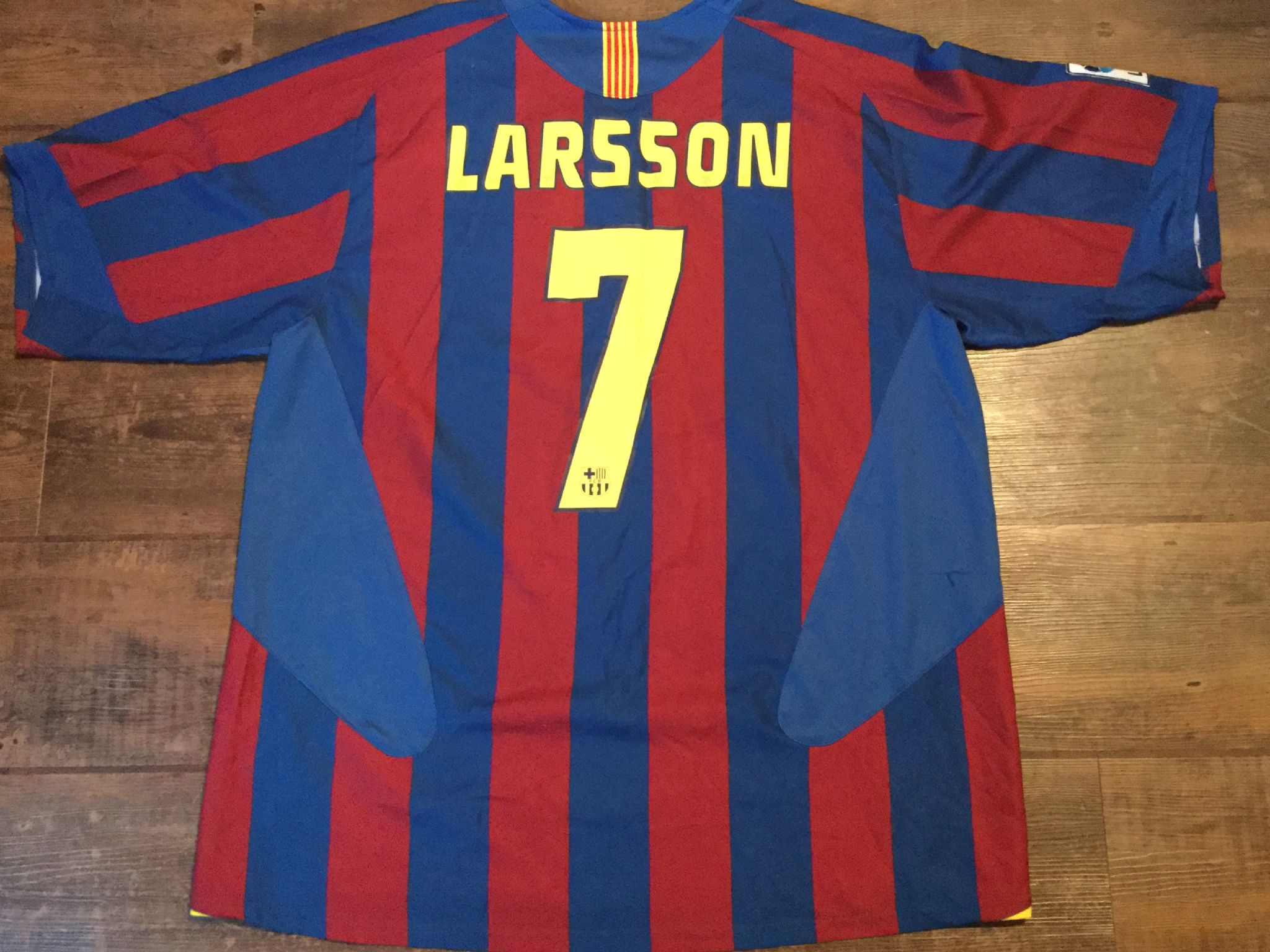 low priced a2fdc 93687 Global Classic Football Shirts | 2005 Barcelona Vintage Old ...