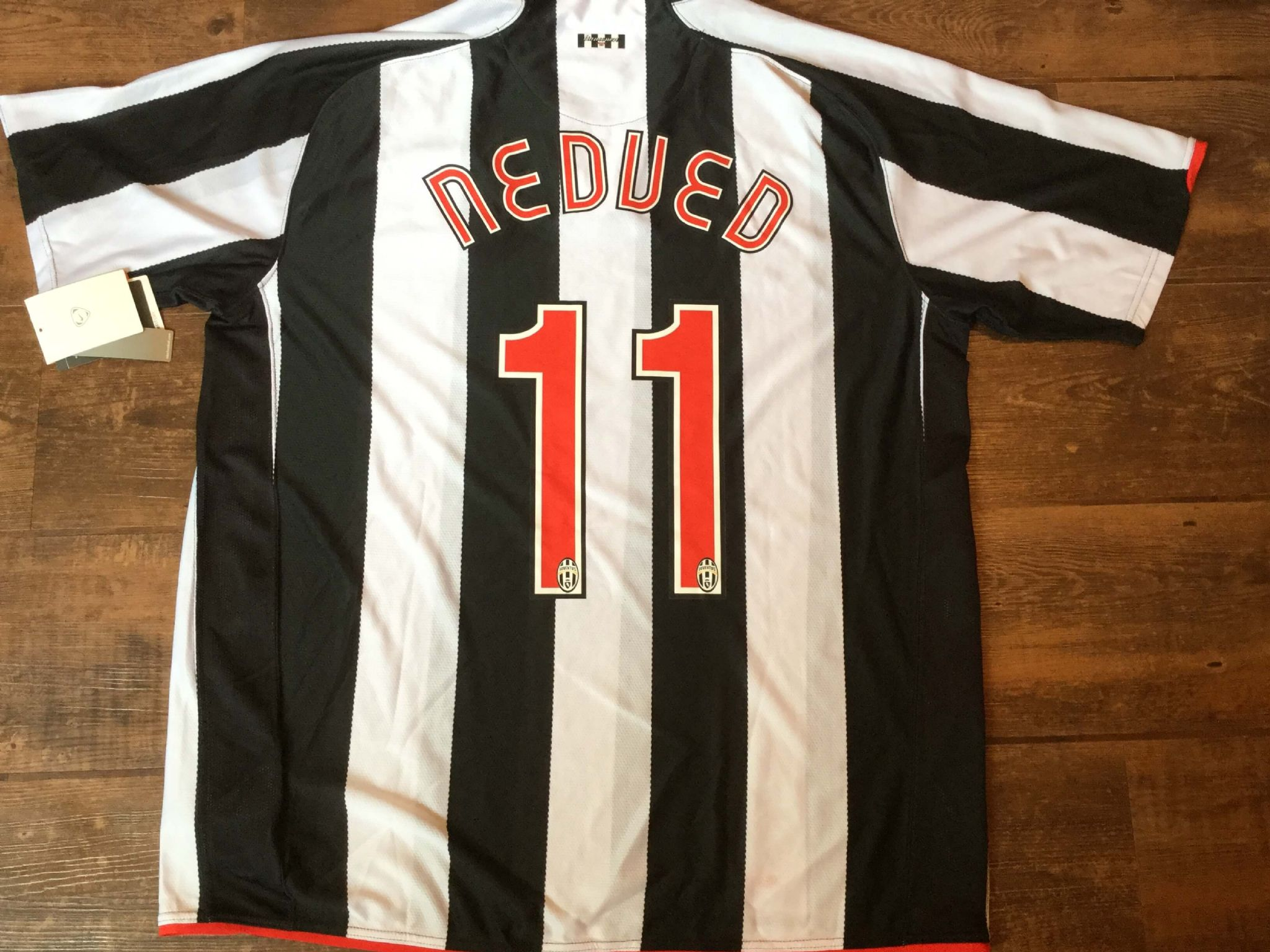 f87bc7aa7 2007 2008 Juventus Nedved BNWT New Home Football Shirt Adults XXL
