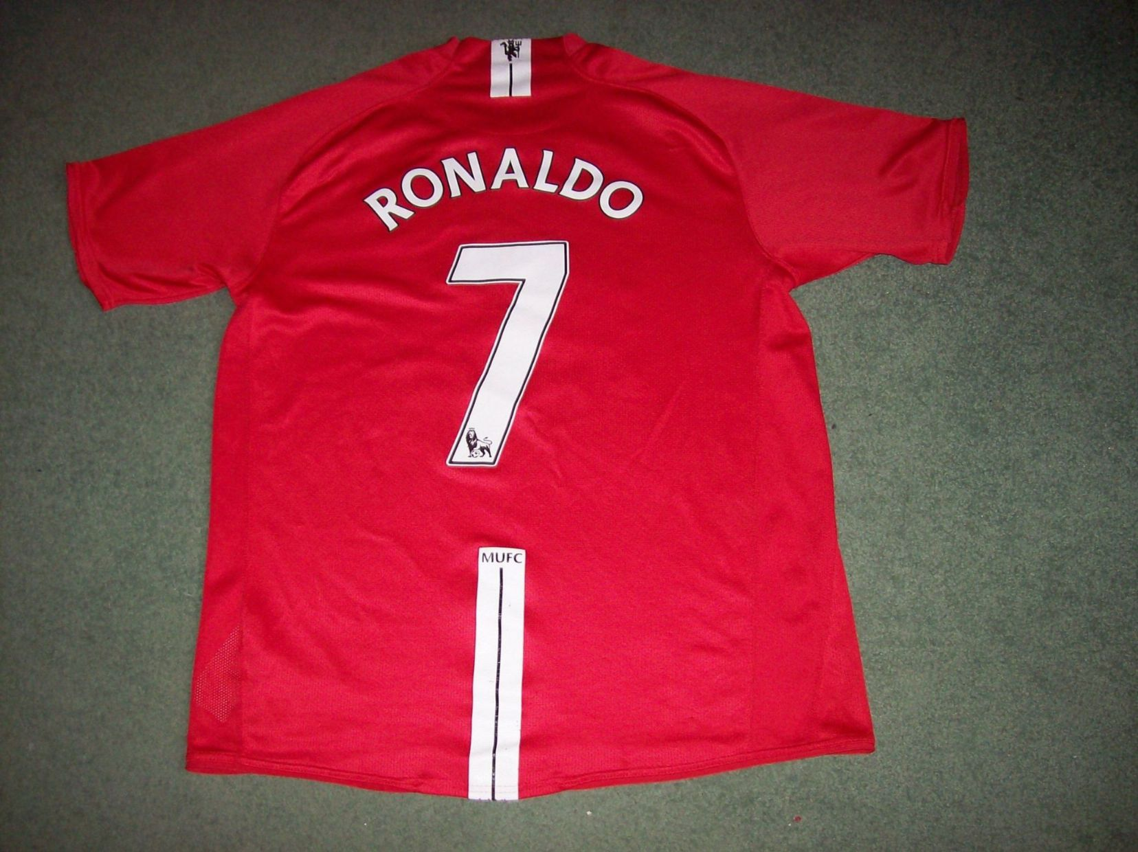 110395dc3 2007 2008 Manchester United Ronaldo Home Football Shirt Top Man Utd U  Adults Large