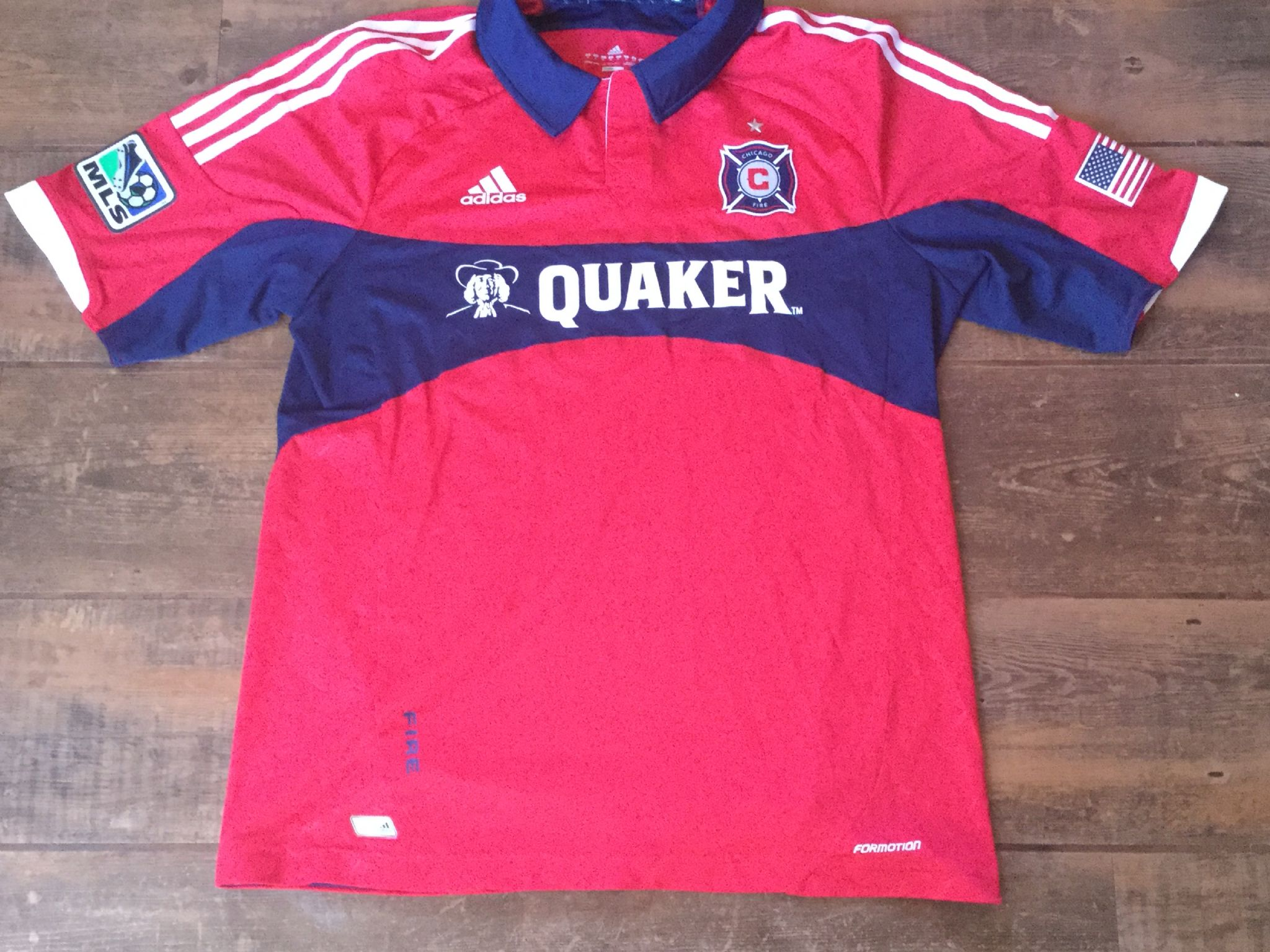 buy online 11cdc df6eb Global Classic Football Shirts | 2012 Chicago Fire Vintage ...