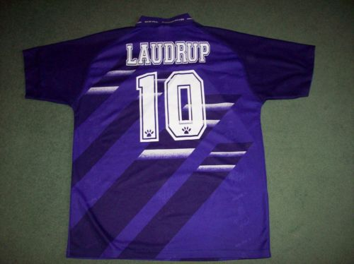 f86e947b1 Real Madrid Laudrup 1994 1996 Away Football Shirt Adults Large Camiseta